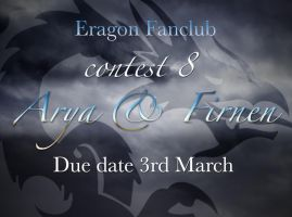 Contest 8 Arya and Firnen by lemonfox2002
