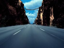 Canyon Highway by pedrosampaio