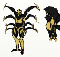 Prime redesigns - Blackarachnia by rabbitzoro