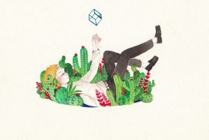 Cactus boy by yuuta-apple