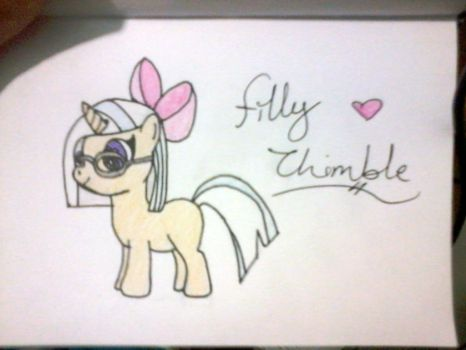 Filly Thimble Ponysona~ by rpm1337