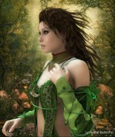 Siren Of The Forest by Radthorne