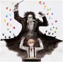 APH: Ludwig and Beethoven by Naivara
