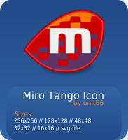 Miro Tango Icon by Unit66