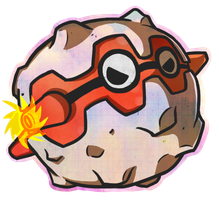 Pokeddex Day 9 - Favorite Steel Type - Forretress