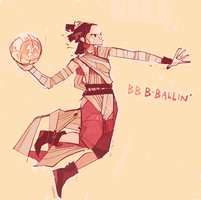 Rey-a-Day 87 get ready to jam by michaelfirman