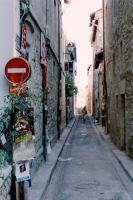 Alley Way In France by AliArnold