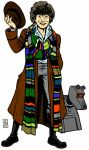The Fourth Doctor by mc-hammark