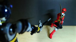 Kamen Rider Dark Decade vs Captain Marvelous 05 by Digger318
