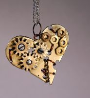 Steampunk pendant 8 by TheCraftsman