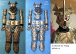 LOTR Easterling Armor Parts by Nephtis