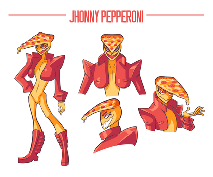 Jhonny Pepperoni by LoulouVZ