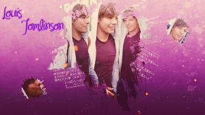Wallpaper Louis Tomlinson by LuLaaEDITION