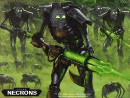 necrons by bioprounleashead2