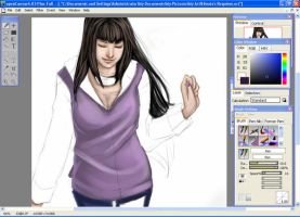 Hinata WIP1 by Artistic-Defiance