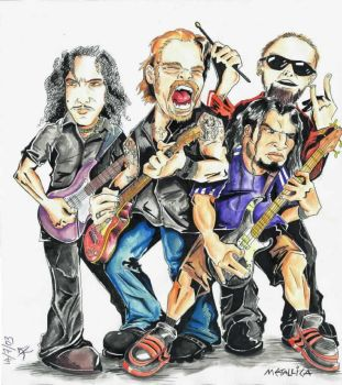 --Metallica-- Kique style by kique-ass