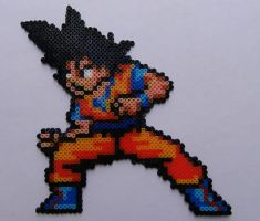 Son goku hama beads mini by berserk03