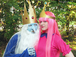 The King and the Princess by clockworkcosplay