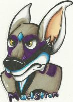 Maelstrom Toony Badge by Dresden-Complex