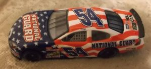 2003 Todd Bodine #54 National Guard car by Chenglor55