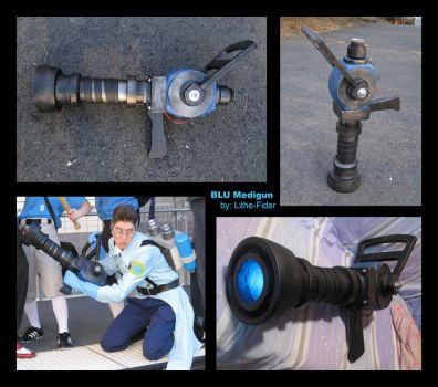 BLU Medic Medigun by Lithe-Fider