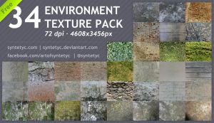 -FREE- 34 Environment Textures by Syntetyc