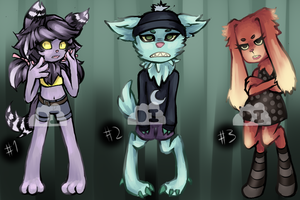 Anthro Adopts [OPEN] by DreaminInsomniac