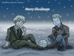 APH  - Christmas Cease-fire by dorizard