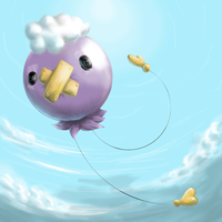 Realistic Drifloon - Contest by nintendo-jr