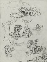 Doodly doodles by TheHarmonicDeviant