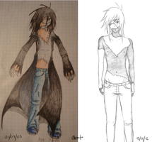 Aro -before and after- by syko-girl
