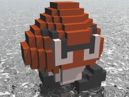 3D Mario - Goomba by NES--still-the-best