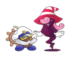 Bobbery and Vivian by bad13
