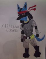 Metal Gear: Lucario by FlyingLion76