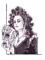 Bellatrix Black Lestrange by Elezar81