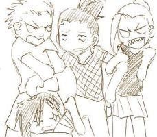 fight fight fight 4 SHIKAMARU by saucywench