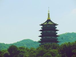 leifeng pagoda by demeters