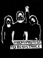 FROM PROTEST TO RESISTANCE by CrashyBandicoot