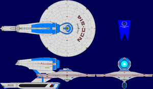 USS Kelvin TMP Multi-View by captshade