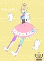 Fashionista: Happy easter by WikiME