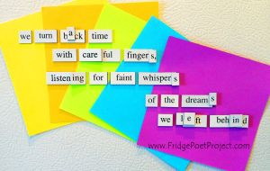 The Daily Magnet #228 by FridgePoetProject