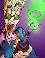 Ghostbuster's Egon by pangaeastarseed