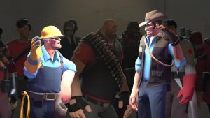 Engie and Snoipah by Robogineer