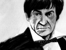Patrick Troughton by Draculasaurus