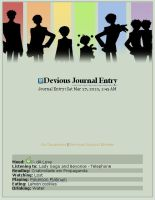 Journal Skin: Ouran colors 2 by OsirisMaru