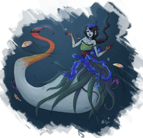 sea witch by Zipperann