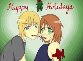 Yaoi Xmas by hitherepeoples