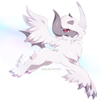 Absol Mega Form by Jiayi