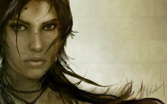 Lara Croft: Tomb Raider - Finished Digital Art by CoverMeDesigns