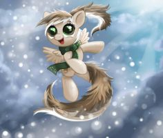 Commission for BlueShiftRecall: Latte Swirl Chibi by MiraRavenheart